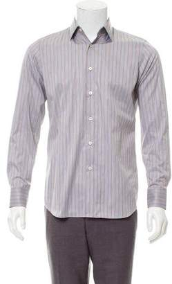 Prada Striped Button-Up Shirt w/ Tags