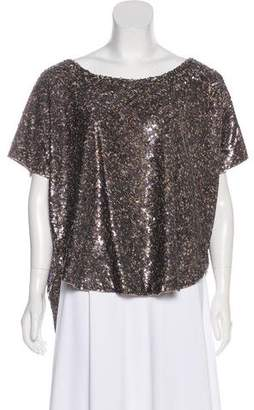 AllSaints Embellished Velutina Top w/ Tags