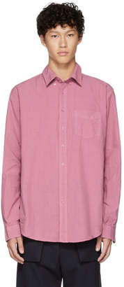 Schnaydermans Pink Poplin Shirt