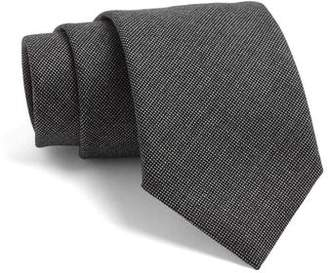 Todd Snyder White Label Fulton Tie in Black with White Dots