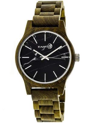 Earth Wood Tuckahoe Unisex Green Bracelet Watch-Ethew4804