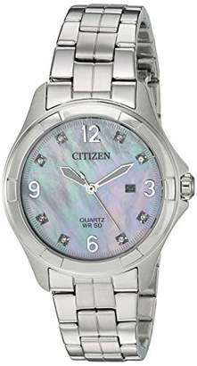 Citizen Women's Quartz Stainless-Steel Strap