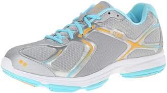 Ryka Women's Devotion Walking Shoe,Grey/Pink