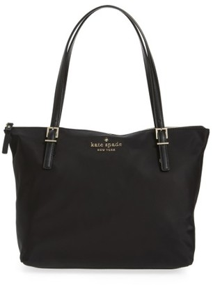 Kate Spade New York Watson Lane Small Maya Nylon Tote - Black $158 thestylecure.com