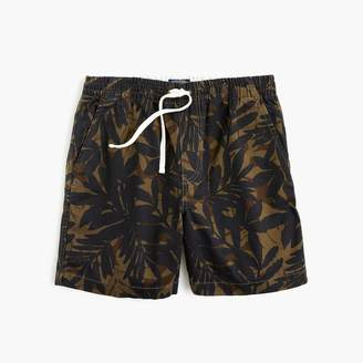 J.Crew Stretch dock short in cotton camo