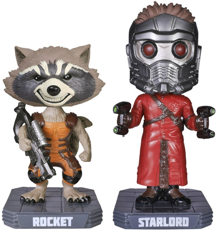 Funko Guardians of the Galaxy Wobbler Bundle: Starlord and Rocket Racoon