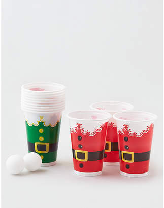 American Eagle Packed Party Santa Pong Party