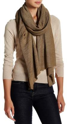 SKULL CASHMERE Emily Linen Scarf $253 thestylecure.com