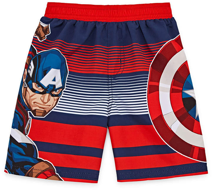 LICENSED PROPERTIES Boys Avengers Trunks-Toddler