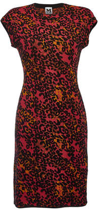 M Missoni Printed Dress with Wool and Cotton