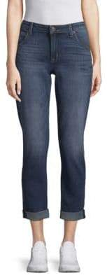 Express Flood Straight Cropped Jeans