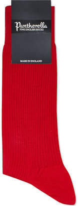 Pantherella Short wool-blend ribbed socks