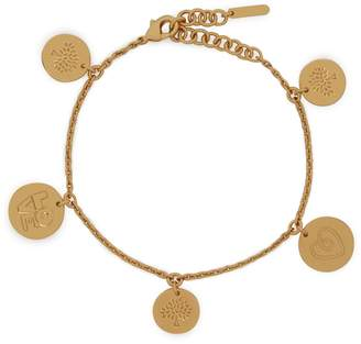 Mulberry Love Coin Bracelet Gold Brass