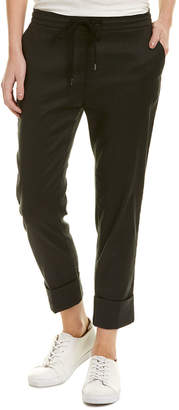 James Perse Pull-On Linen-Blend Pant