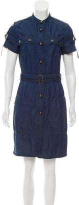 Lanvin Denim Mini Dress