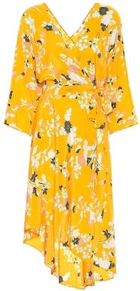Diane von Furstenberg Floral print silk dress