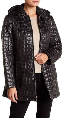 Kate Spade Hooded Quilt Jacket