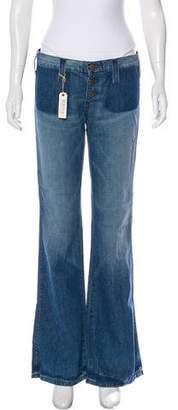 Elizabeth and James Textiles x Mid-Rise Wide -Leg Jeans