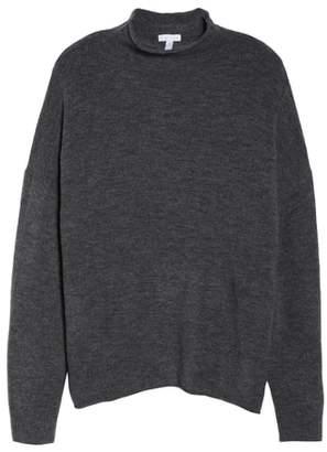 Leith Cozy Mock Neck Sweater