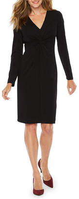 Ronni Nicole Long Sleeve Fit & Flare Dress