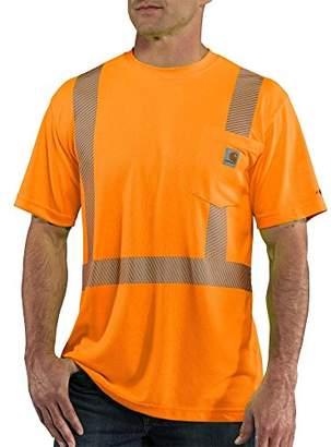 Carhartt Men's Big & Tall High Visibility Force Short Sleeve Class 2 Tee