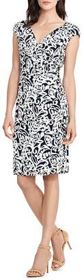 Lauren Ralph Lauren Paisley-Print Cap-Sleeve Dress $109 thestylecure.com