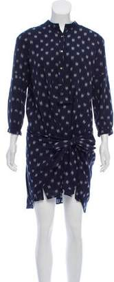 Ulla Johnson Patterned Tie-Accented Dress