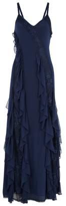 Alice + Olivia Jayda Lace-panelled Silk Maxi Dress