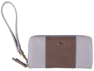 ROOTS 73 Zipper Round Cell Phone Wristlet