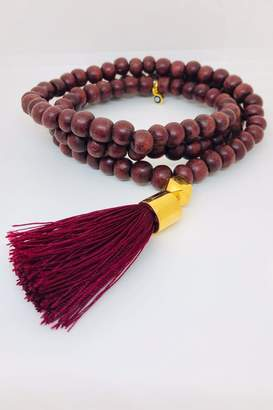Abeja Wooden Beaded Necklace