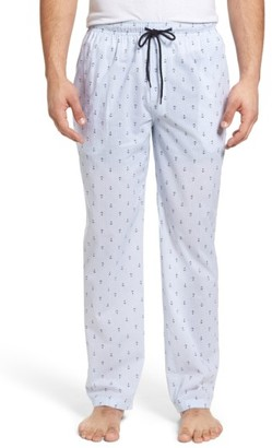 Men's Majestic International Anchor Print Lounge Pants $40 thestylecure.com
