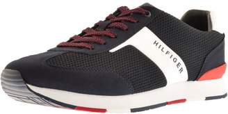 Tommy Hilfiger Mix Runner Trainers Navy