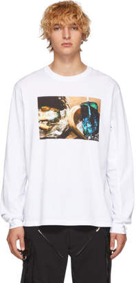 1017 Alyx 9SM White First Catalogue Covers Long Sleeve T-Shirt