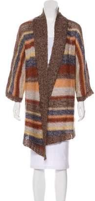 Splendid Wool-Blend Striped Cardigan