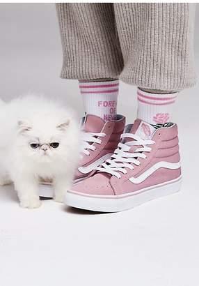 Sk8-Hi Slim Hi Top Sneaker by Vans at Free People $65 thestylecure.com