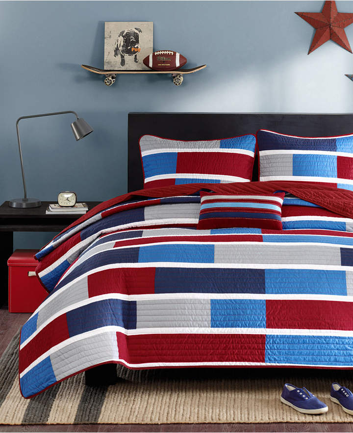 Mi Zone Bradley Full/Queen 4-Pc. Quilted Coverlet Set Bedding