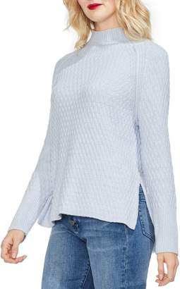 Vince Camuto Mock Neck Raglan Sweater