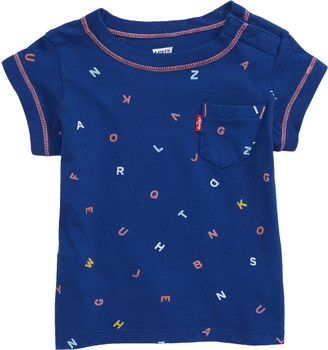 Levi's Alphabet Pattern T-Shirt