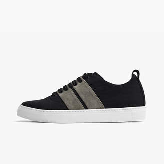 James Perse CARBON RETRO TEXTURED NYLON SNEAKER - MENS