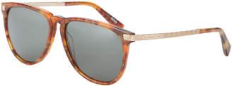 Ermenegildo Zegna EZ0038 Tortoiseshell-Look Aviator Sunglasses