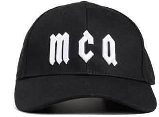 McQ Alexander McQueen Gothic Logo Baseball Cap