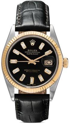 Rolex Lizzie Mandler Fine Jewelry Oyster Perpetual Datejust 36mm