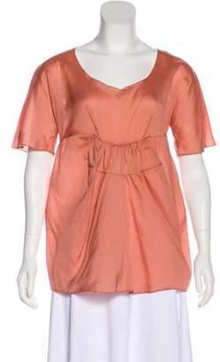 Marni Silk Short Sleeve Top w/ Tags