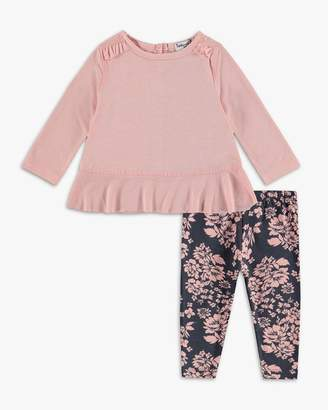 Splendid Baby Girl Flounced Top Set
