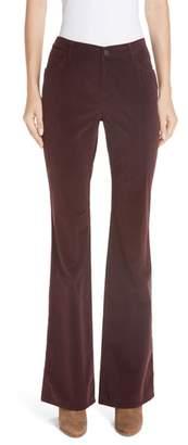 Lafayette 148 New York Flare Leg Corduroy Pants