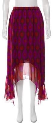 Diane von Furstenberg Louella Silk Maxi Skirt w/ Tags
