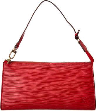 Louis Vuitton Red Epi Leather Pochette