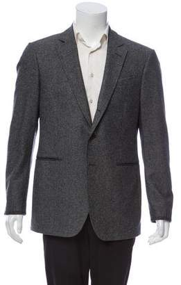 John Varvatos Wool Two Button Blazer