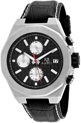 Roberto Bianci Men's Dress Fratelli Collection Dial Classic Analog Watch with Enamel Bezel (Model:RB0130)