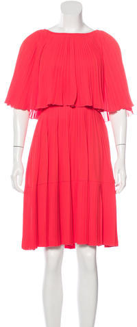 Kate Spade Kate Spade New York Pleated Knee-Length Dress w/ Tags